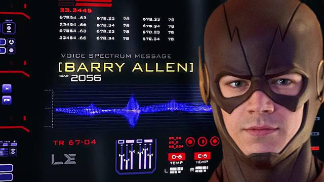 Barry Allen Warning Legends Tomorrow Savitar