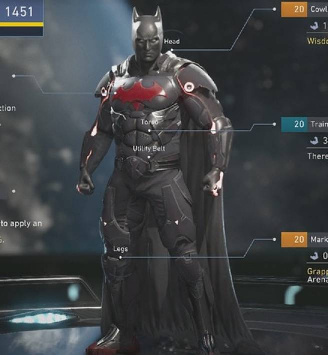 Injustice 2: Max Level Gear Sets Revealed