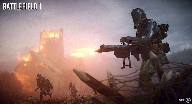 Battlefield 1 In the Name of the Tsar art reveals female soldiers