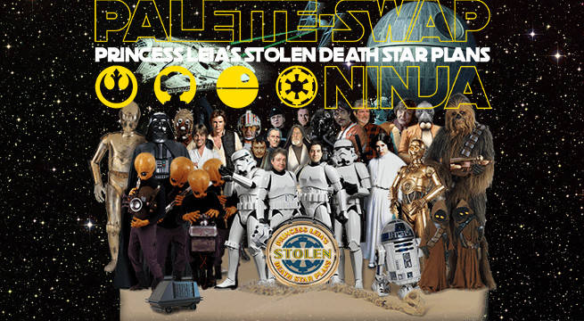 """Watch The Beatles Mashup With Star Wars In """"Princess Leia's Stolen Death Star Plans"""""""