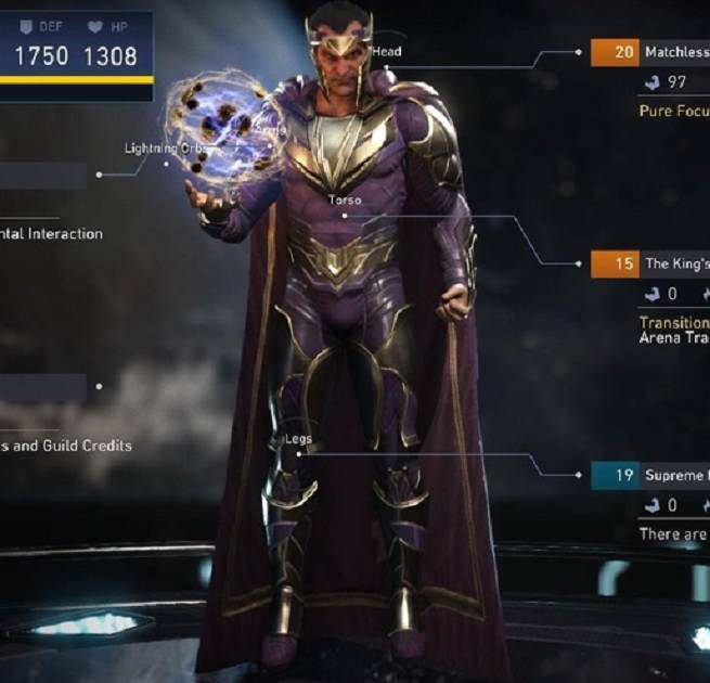 injustice 2 max level gear sets revealed