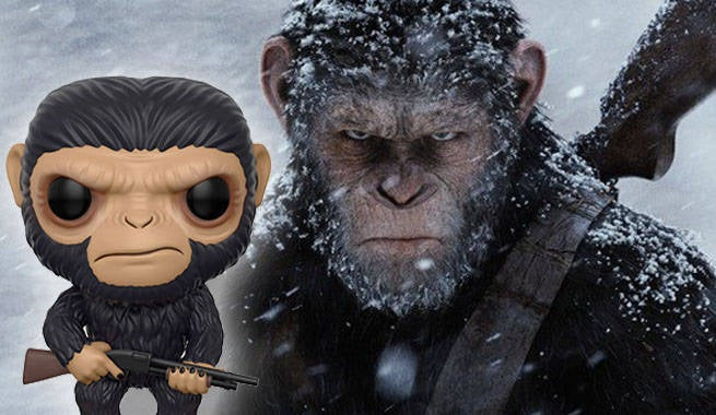 Funko Reveals War For The Planet Of The Apes Pop! Figures