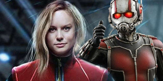 Captain Marvel AntMan