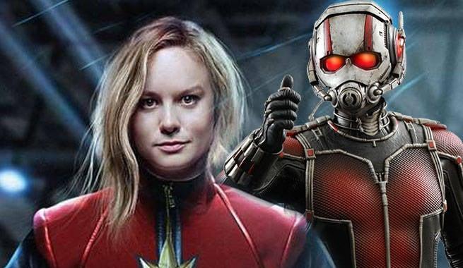 Captain Marvel AntMan