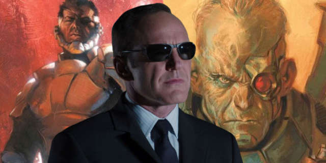 Coulsonk Man On the Wall Nick Fury