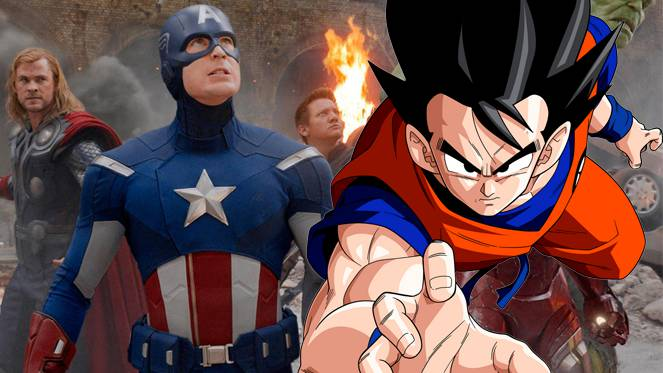 dragon ball super goku avengers