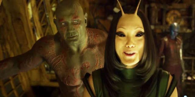 Drax and Mantis