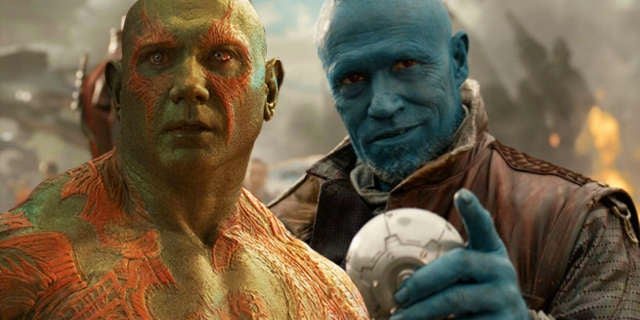 drax yondu guardians of the galaxy vol 2