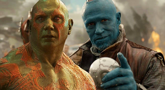 Guardians of the Galaxy Vol. 2 Set Image Reveals Drax vs. Yondu Ping Pong Battle