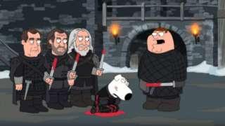 Family Guy Game of Thrones