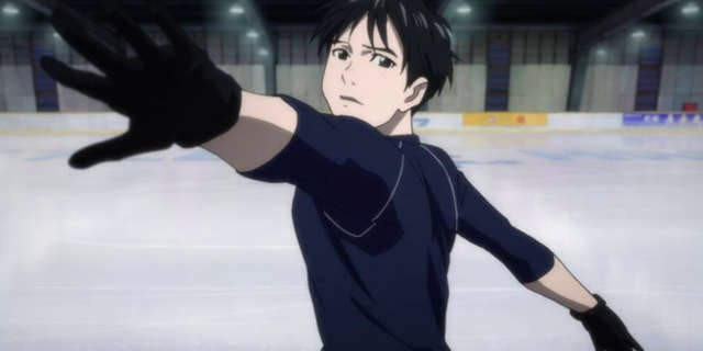 Figure Skater Johnny Weir Performs Yuri!!! On Ice Routine