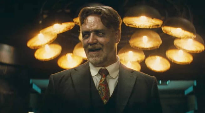 First Look at Russell Crowe Mr. Hyde in The Mummy 2017