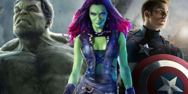Gamora Cap Hulk