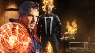Ghost Rider Doctor Strange