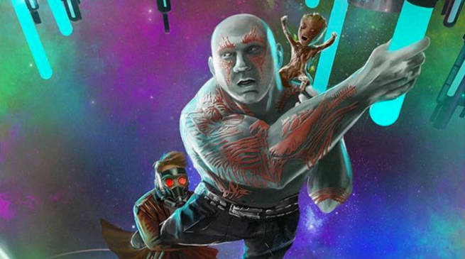 Guardians of the Galaxy vol. 2 Gets a Goonies-Style Poster