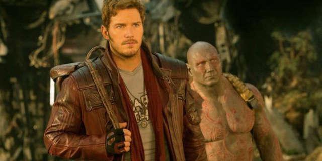 guardians of the galaxy chris pratt dave bautista screen test
