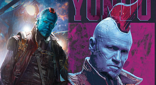 Michael Rooker Explains Why Yondu Didn't Always Have A Huge Mohawk
