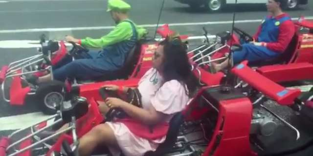 Hugh Jackmon Sees Real-Life Mario Kart on Tokyo Streets and Freaks Out