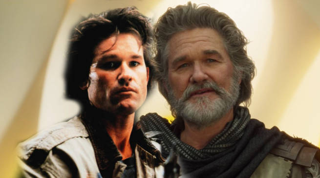 Kurt Russell Young Ego in Guardians fo the Galaxy 2