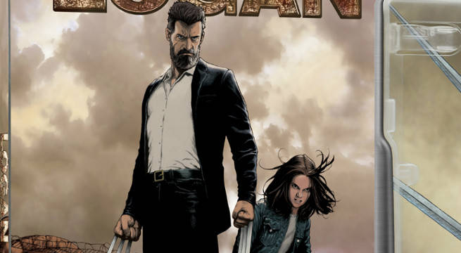 Old Man Logan Artist Steve McNiven Covers Logan's Blu-Ray Steel Book