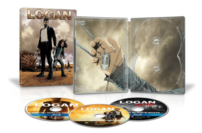 logan steelbook blu ray special edition steve mcniven