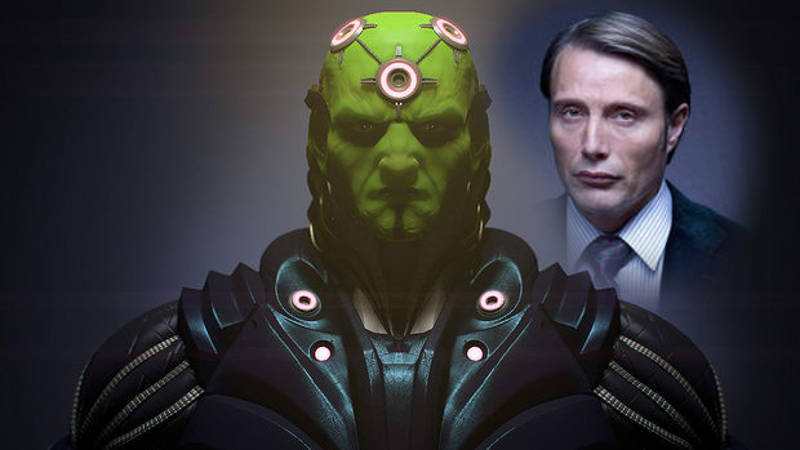Mad Mikkelsen as Brainiac