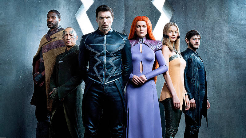 First Cast Photo of Royal Family Revealed for Marvel's Inhumans
