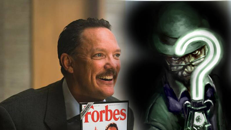 Matthew Lillard as The Riddler DCEU