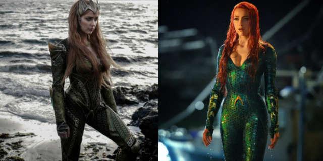 Mera Justice League Aquaman Costumes Compared