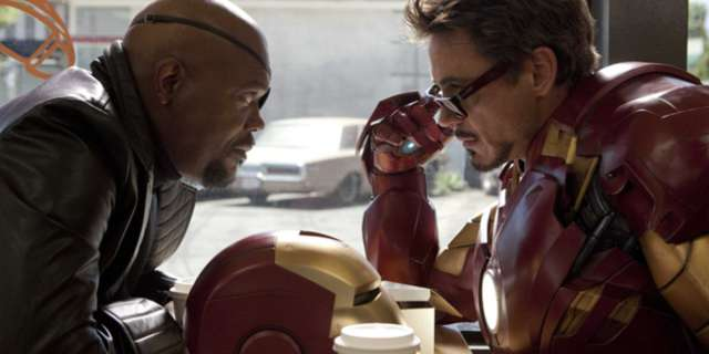 nick fury tony stark