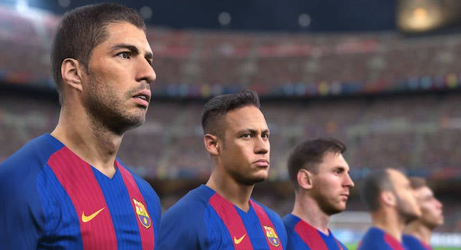 Pro Evolution Soccer 2018 announced