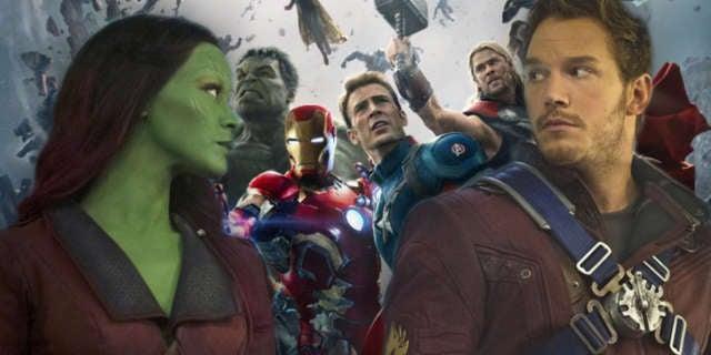 Quill Gamora Avengers