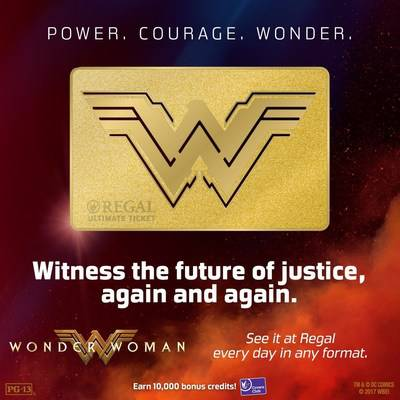 RGC Wonder Woman Ultimate Ticket