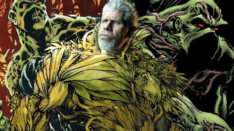 Ron Pelman as Swamp Thing