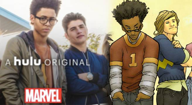 Marvel's Runaways Reveals New Logo, Cast Photo