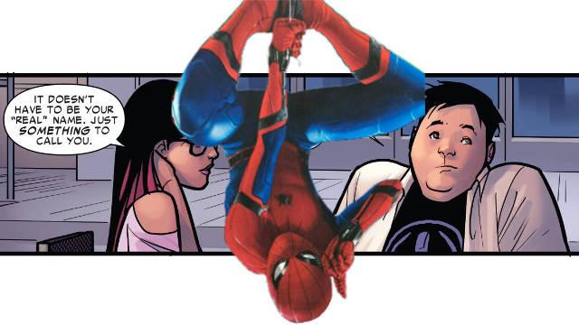 Spider-Man: Homecoming Joke In Spider-Man #15