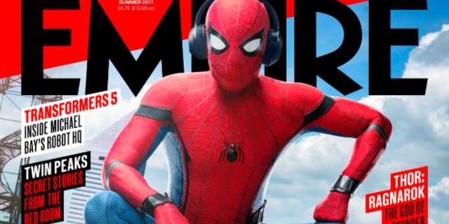 Spider-Man Homecing Empire Magazine