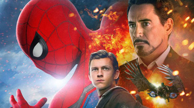 Tom Holland Reveals New Standee For Spider-Man: Homecoming