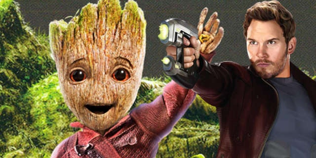 star-lord groot