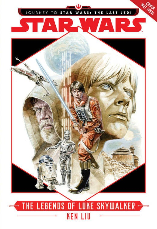 star wars books the legends of luke skywalker