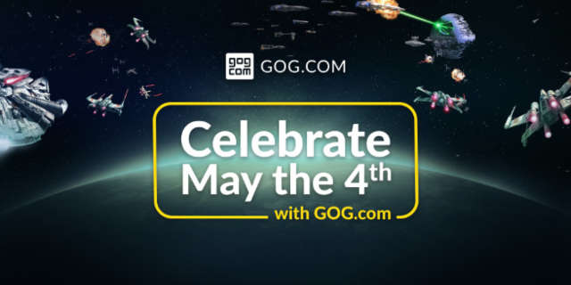 star wars gog com may the 4th video game sale