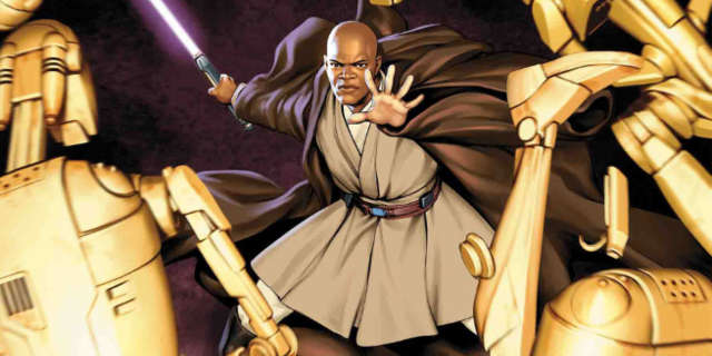 Star Wars Mace Windu Comic Book
