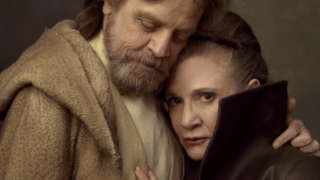 star wars the last jedi features skywalker twin luke leia reunion