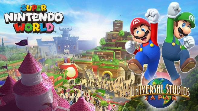 Super Nintendo World Amusement Park Trademark Reveals More Details