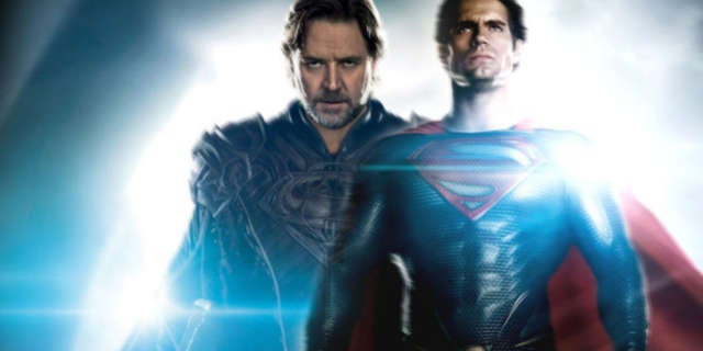 Superman in Kryptonian Armor Man of Steel