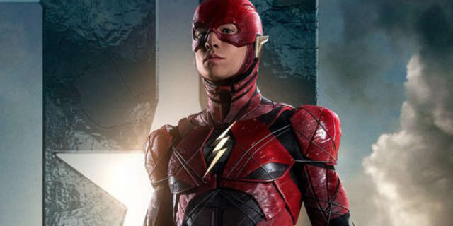 The Flash movie costume