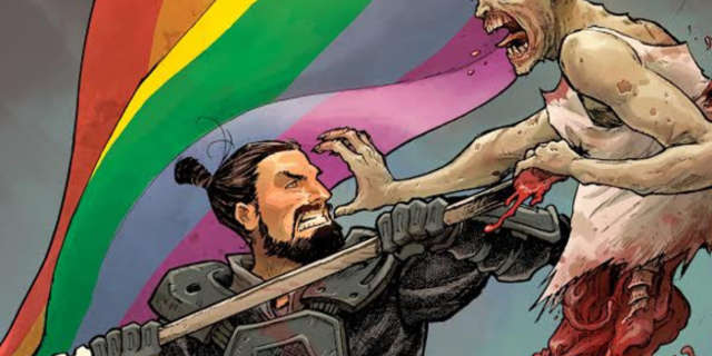 The Walking Dead Pride Variant