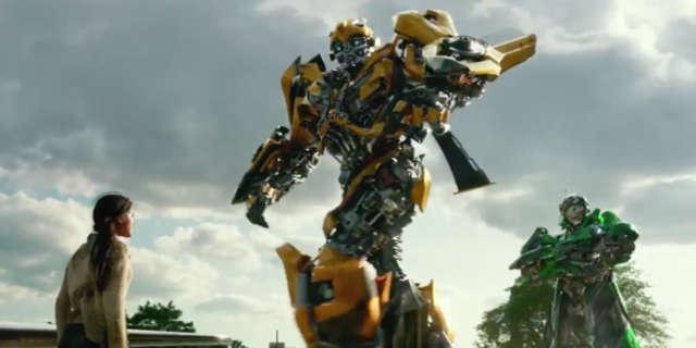 Transformers 5 Bumblebee Breaks Apart Attack Scene