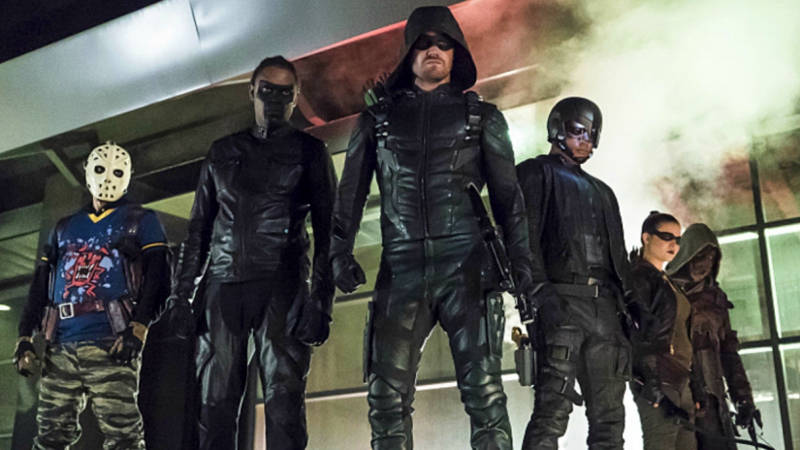 Who Died Team Arrow Season 5 Finale