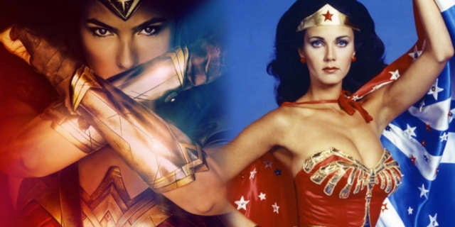 wonder woman gal gadot lynda carter